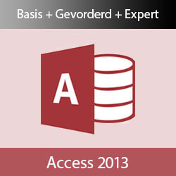 E-learning Access 2013 Basis Gevorderd Expert