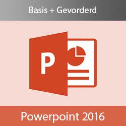 Online cursus PowerPoint 2016 Basis + Gevorderd