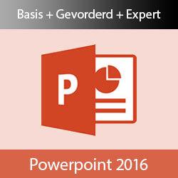 Online cursus PowerPoint 2016 Basis + Gevorderd + Expert