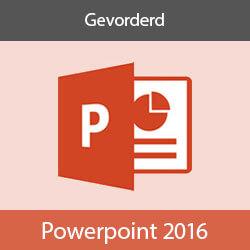 Elearning PowerPoint 2016 Gevorderd