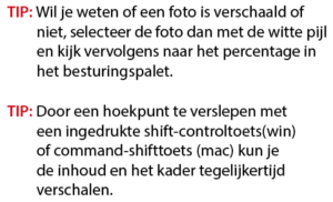 Koptekst in InDesign