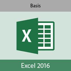 Online cursus Excel 2016 Basis