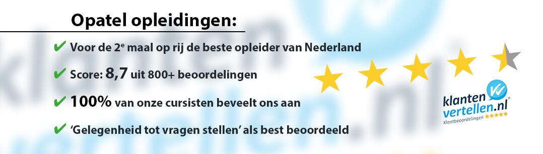 Opatel beste opleider van Nederland
