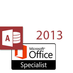 Access 2013 MOS Specialist