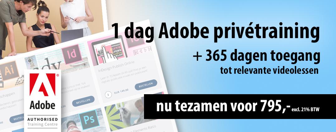 Adobe Prive Cursus plus Online Cursus