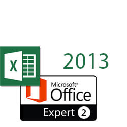 Excel 2013 MOS Expert 2