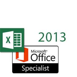 Excel 2013 MOS Specialist