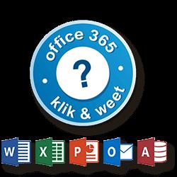 Klik en Weet voor Office programmas
