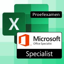 Proefexamen MOS Excel