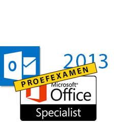 MOS Proefexamen Outlook 2013