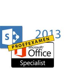 MOS Proefexamen SharePoint 2013