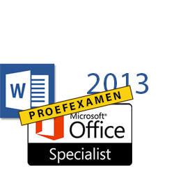 MOS Proefexamen Word 2013 Core
