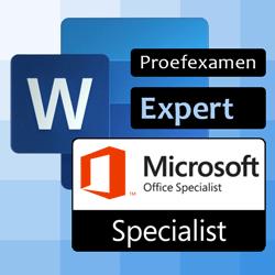 Proefexamen Word expert