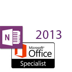 OneNote 2013 MOS Specialist