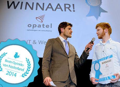 Opnieuw is Opatel door de cursisten gekozen tot beste opleider van Nederland.