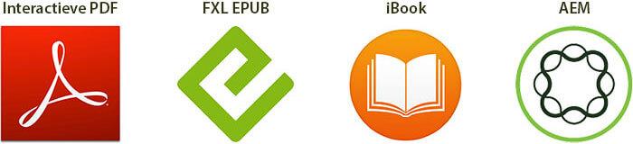 Interactieve PDF's, EPUBS, iBooks en AEM