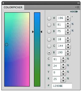 Color Picker - Opatel Opleidingen