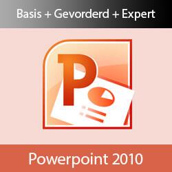 Online cursus PowerPoint 2010 Basis, Gevorderd en Expert