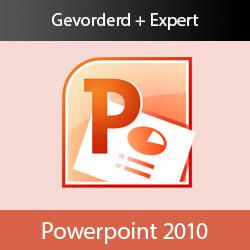 Online cursus PowerPoint 2010 Gevorderd en Expert