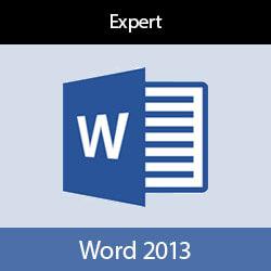 Online cursus Word 2013