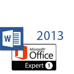 Word 2013 MOS Expert 1