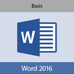 Online cursus Word 2016 Basis