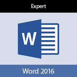 Online cursus Word 2016 Expert